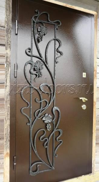 двери металлические входные с ковкой в сергиев посаде