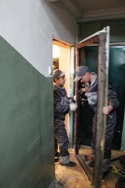 цены монтажа и демонтажа металлических дверей