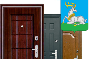 металлическая дверь решетка 1300 на 2